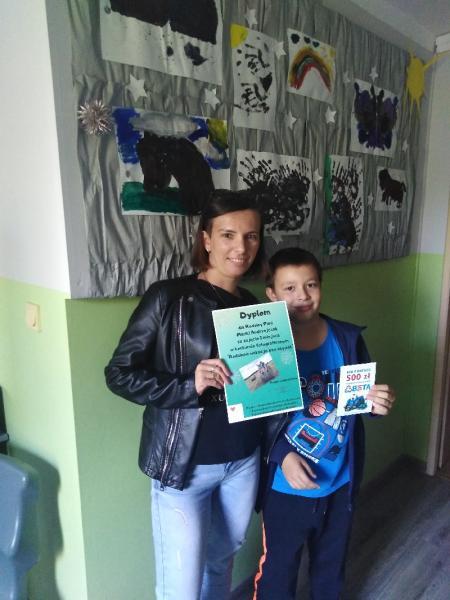 Nagrody w konkursie Rodzinne wakacje bez używek